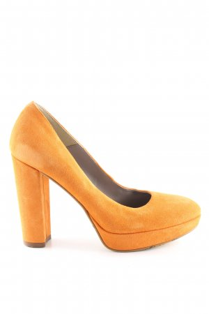 Tamaris Escarpin à plateforme orange clair style d'affaires