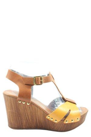 Tamaris Platform Sandals brown-primrose casual look