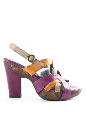Tamaris Riemchen-Sandaletten mehrfarbig Casual-Look