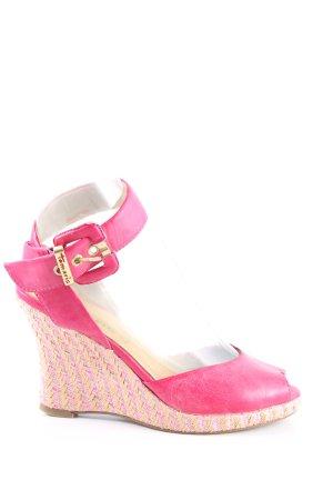 Tamaris Plateau-Sandaletten pink Casual-Look