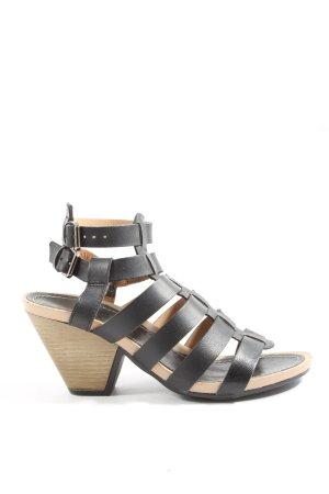 Tamaris Platform High-Heeled Sandal black casual look