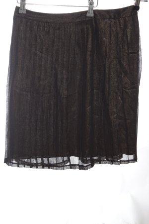 Tamaris Pleated Skirt bronze-colored flecked elegant