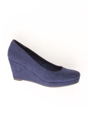Tamaris Pumps blau Größe 38
