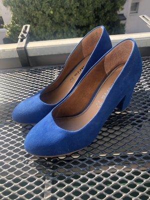 Tamaris Pumps Gr. 37 blau