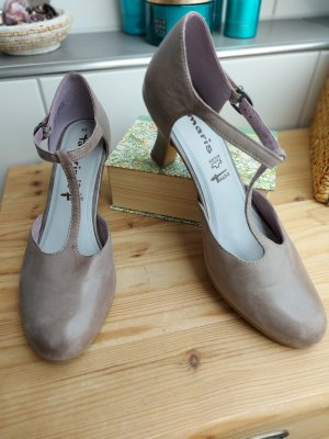 Tamaris Pumps, Gr. 41, taupe