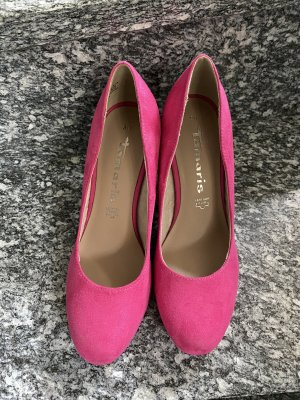 Tamaris High-Front Pumps pink