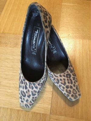 Tamaris Pumps mit Leoparden Muster