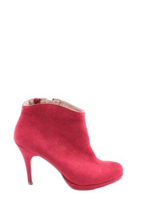 Tamaris Reißverschluss-Stiefeletten rot Elegant