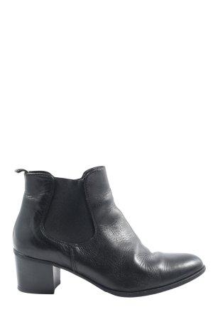 Tamaris Reißverschluss-Stiefeletten schwarz Casual-Look