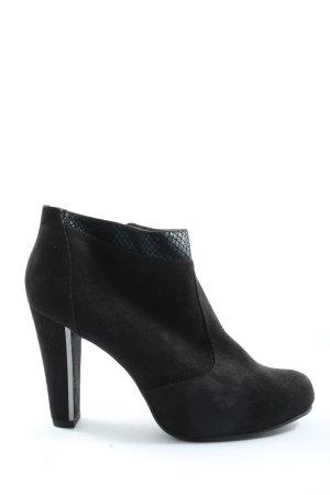 Tamaris Reißverschluss-Stiefeletten schwarz Elegant