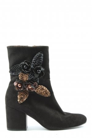 Tamaris Reißverschluss-Stiefeletten schwarz-bronzefarben Elegant
