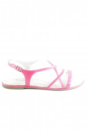 Tamaris Strapped Sandals pink casual look