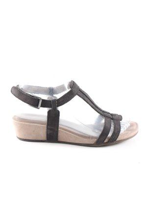 Tamaris Strapped Sandals black-cream casual look