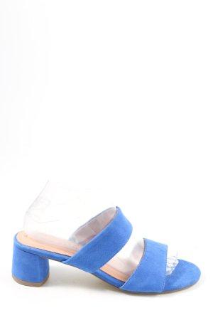 Tamaris Riemchen-Sandaletten blau Casual-Look