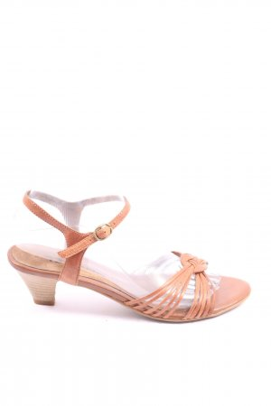 Tamaris Strapped High-Heeled Sandals pink casual look