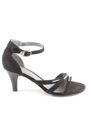 Tamaris Riemchenpumps schwarz klassischer Stil