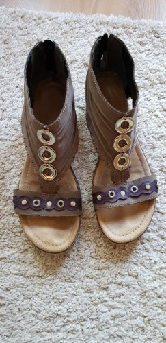 Tamaris Sandalias cómodas gris-violeta grisáceo