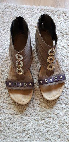 Tamaris Comfort Sandals grey-grey lilac