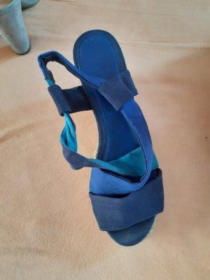 fashletics by Tamaris Sandalo alto con plateau blu neon-blu