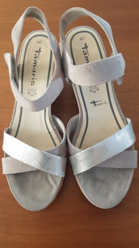Tamaris Compensé argenté gris clair