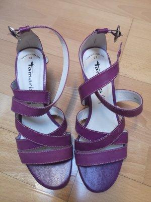 Tamaris Sandaletten in lila