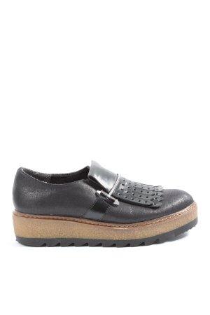 Tamaris Slip-on Shoes black-brown casual look