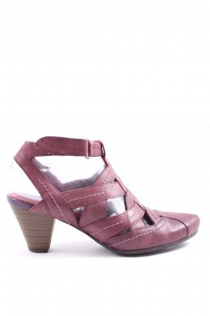 Tamaris Slip-on rouge style décontracté
