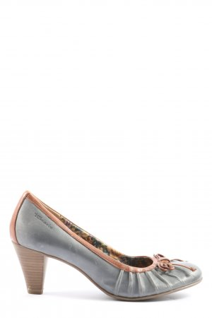Tamaris Zapatos Informales gris claro-marrón look casual