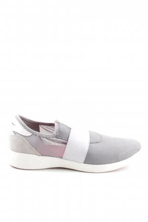 Tamaris Schlüpfsneaker hellgrau-weiß Casual-Look