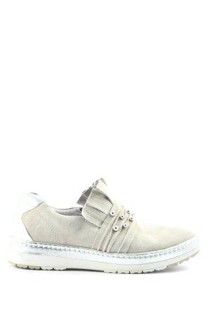 Tamaris Slip-on Sneakers light grey-silver-colored casual look