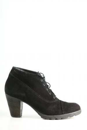 Tamaris Lace-up Booties black business style