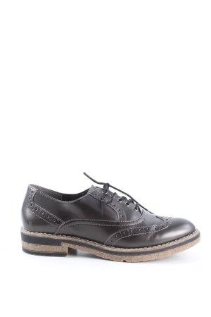 Tamaris Chaussures à lacets brun style décontracté