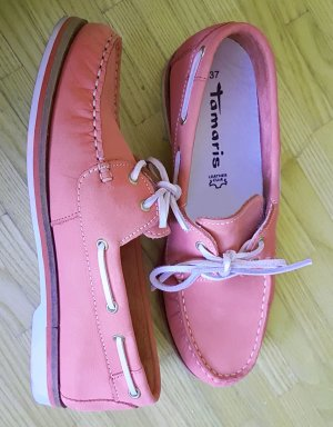 Tamaris Moccasins pink leather
