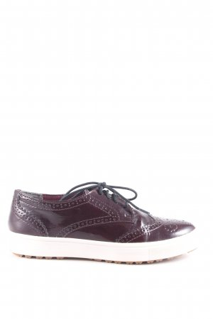 Tamaris Lace Shoes brown casual look