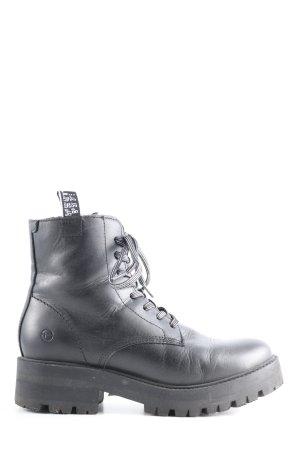 Tamaris Aanrijg laarzen zwart casual uitstraling