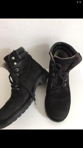 Tamaris Aanrijg laarzen zwart-antraciet