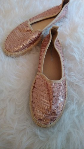Tamaris Espadrillas color oro rosa