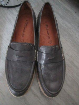 Tamaris Budapest schoenen taupe-grijs