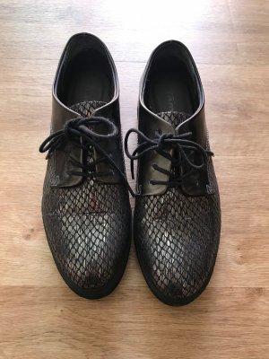 Tamaris Pantoffels zwart-zilver