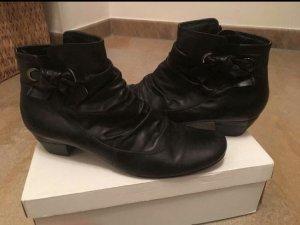 Tamaris Schuhe Boots Stiefeletten Schwarz Schleife