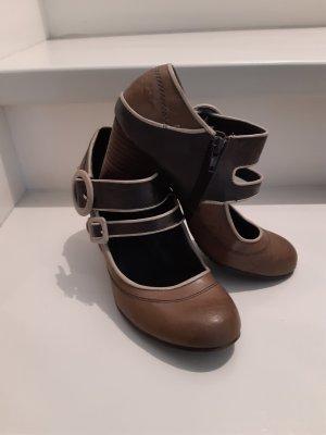 Tamaris-Schuhe in taupe/mehrfarbig