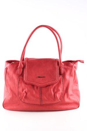 Tamaris Bolsa de hombro rojo estilo «business»