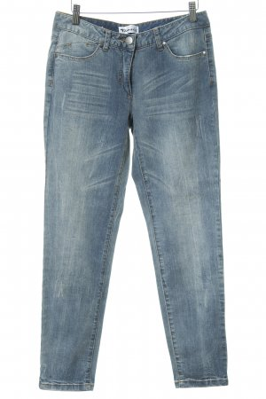 Tamaris Jeans slim fit blu fiordaliso-azzurro stile jeans