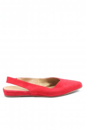 Tamaris Slingback Ballerinas red casual look