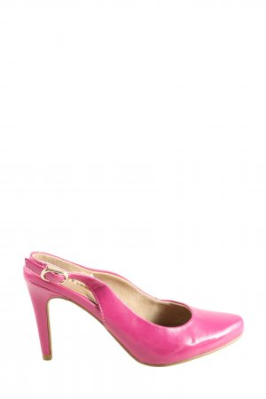 Tamaris Slingback-Pumps pink Casual-Look