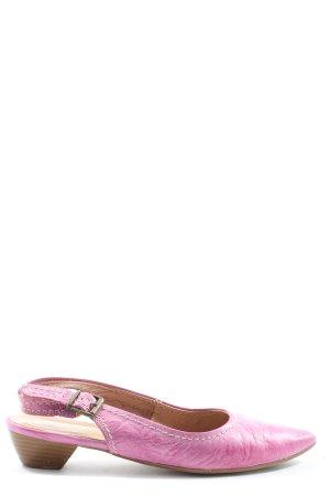Tamaris Slingback Pumps pink casual look