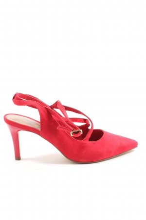 Tamaris Slingback Pumps red business style