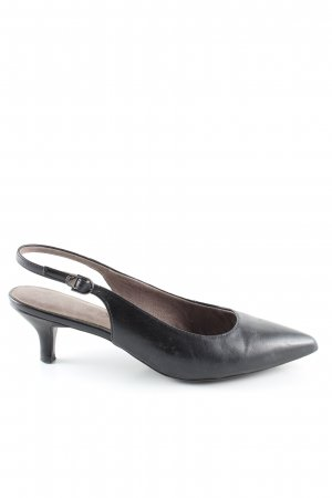 Tamaris Slingback Pumps black business style