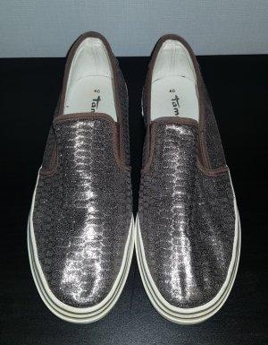 Tamaris Pantofola argento-marrone-grigio