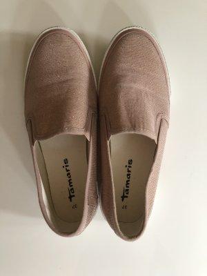 Tamaris Pantofola color oro rosa-bianco